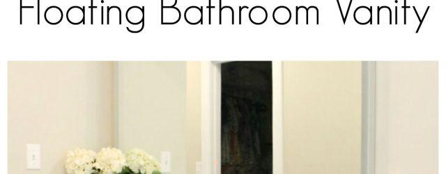 DIY Bathroom Vanity Plans