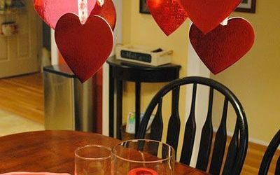 Valentine Table Decoration Ideas