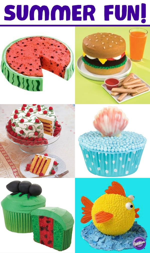 Summer Cake Decorating Ideas