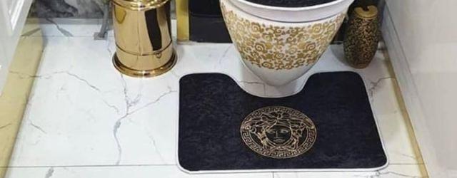 Versace Bathroom Set