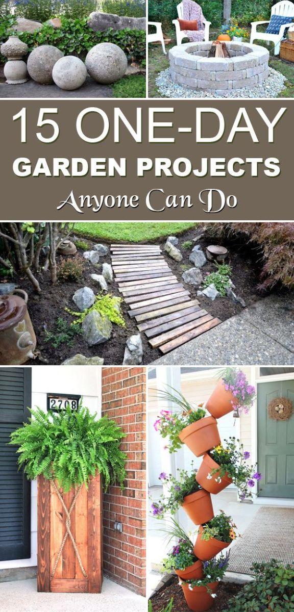 DIY Garden Ideas Designs