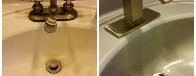 Bathroom Sink Paint