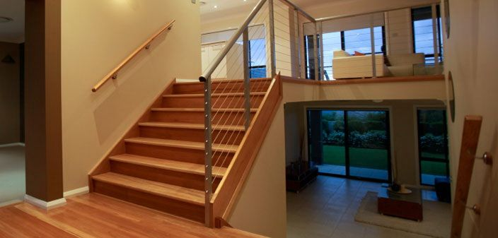 Split Level House Interior