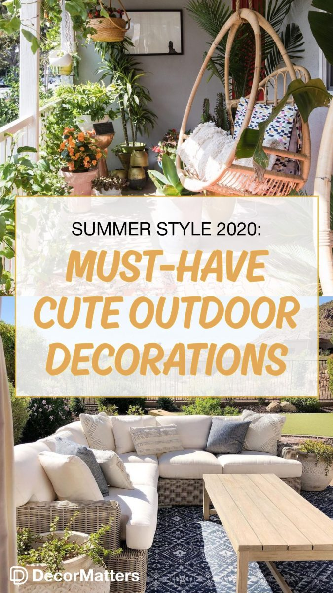 Outside Decorations For Summer
