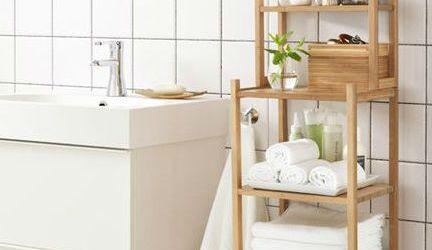 Bamboo Bathroom Shelf