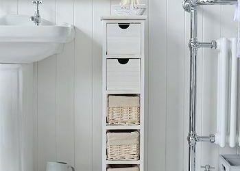 Narrow Bathroom Storage