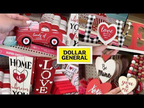 Dollar General Valentine Decorations