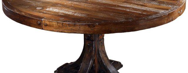 Round Wood Kitchen Table