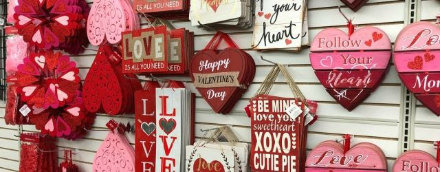 Valentine's Day Decorations Dollar Tree