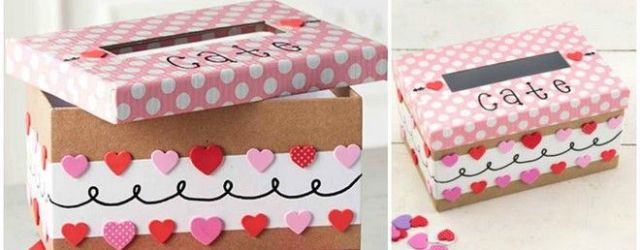 Valentine's Day Shoebox Decorating Ideas