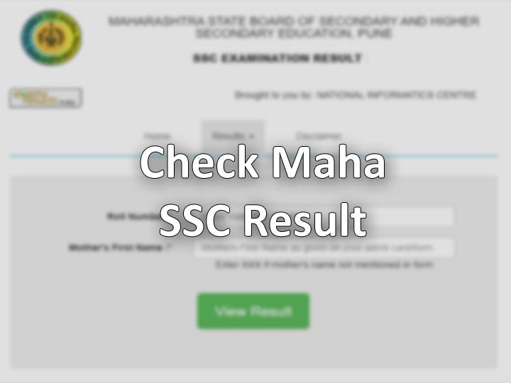 SSC maharashtra result 2019