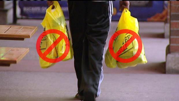 प्लास्टिक पिशव्याचा साठा करणा-यावर दुकानावर दंडात्मक कारवाई