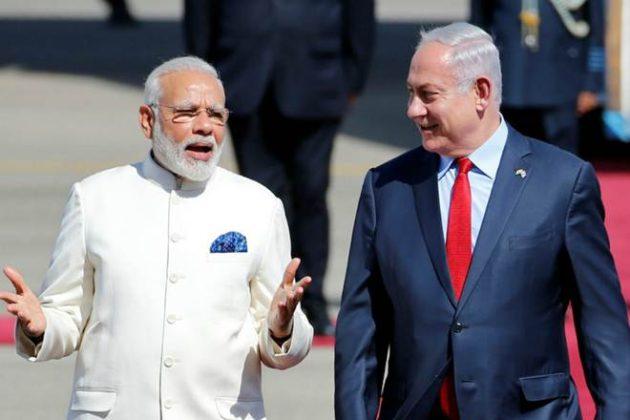 इराणच्या अण्विक कृत्यांविषयी इस्त्रायलच्या पंतप्रधानांची मोदींशी चर्चा