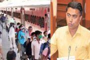 #CoronaVirus: दिल्लीमधून मजुरांना घेऊन जाणारी ट्रेन गोव्यात थांबणार नाही, मुख्यमंत्र्यांचा निर्णय