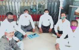 जमावबंदी आदेशाचे उल्लंघन केल्याप्रकरणी आंदोलनकर्त्यांवर गुन्हा दाखल