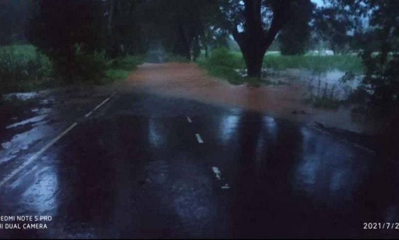 गगनबावडा, कोल्हापूर- रत्नागिरी महामार्ग बंद