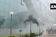 दिल्ली: CBI कार्यालयाला आग; अग्निशमन दलाच्या गाड्या घटनास्थळी दाखल