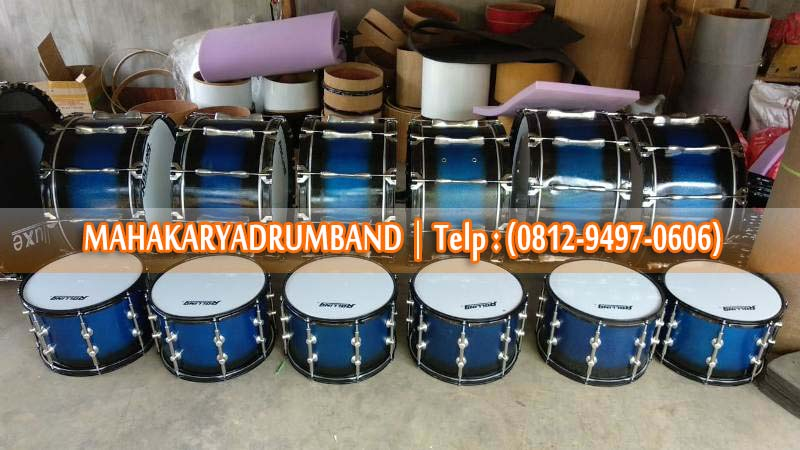Supplier Alat Drumband 1 Set Full Daik