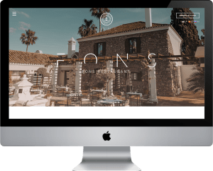 Fons Restaurant - Restaurant Website Design Marbella