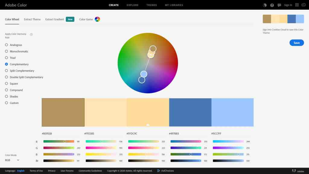 Web Design Color