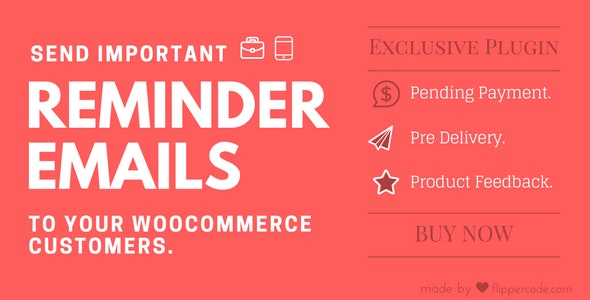WooCommerce Reminder Emails for WordPress