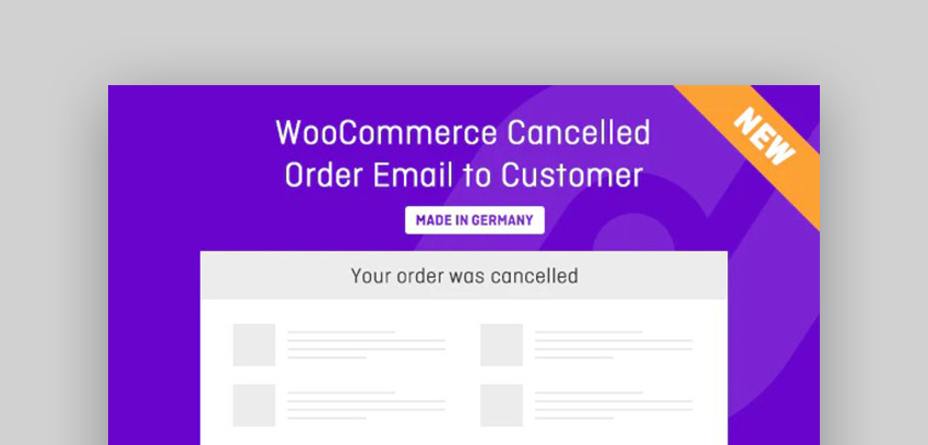 WooCommerce Cancelled Order Plugin
