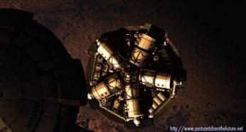 Mastroianni Lander Module on Mars descent