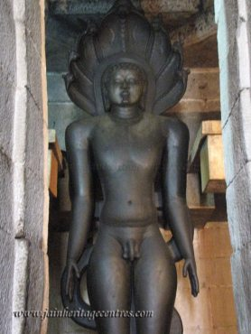 Lord Parshwanath idol.