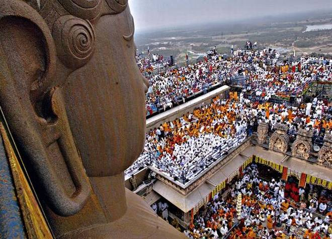 mahamasthakabhisheka Shravanabelagola Bahubali