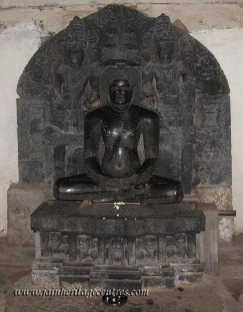 Lord Adinath, Eradu Katte Basadi, Chandragiri Hillock, Shravanabelagola.
