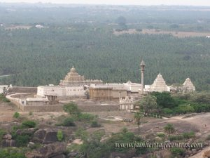 A view of Chandragiri Hillock