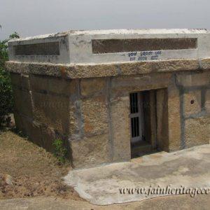 A view of Iruve Brahmadeva Temple. Chandragiri Hillock, Shravanabelagola.