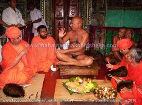 Mahamastakabhisheka-2006-Acharya-Sri-Vardhamansagarji-Maharaj-Mangala-Pravesh-0014