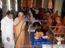 Mahamastakabhisheka-2006-Acharya-Sri-Vardhamansagarji-Maharaj-Mangala-Pravesh-0021