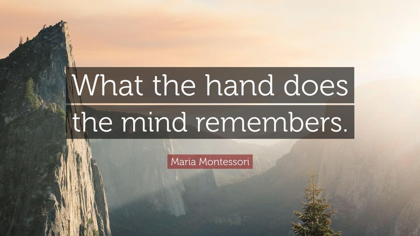 Maria Montessori Maha Montessori