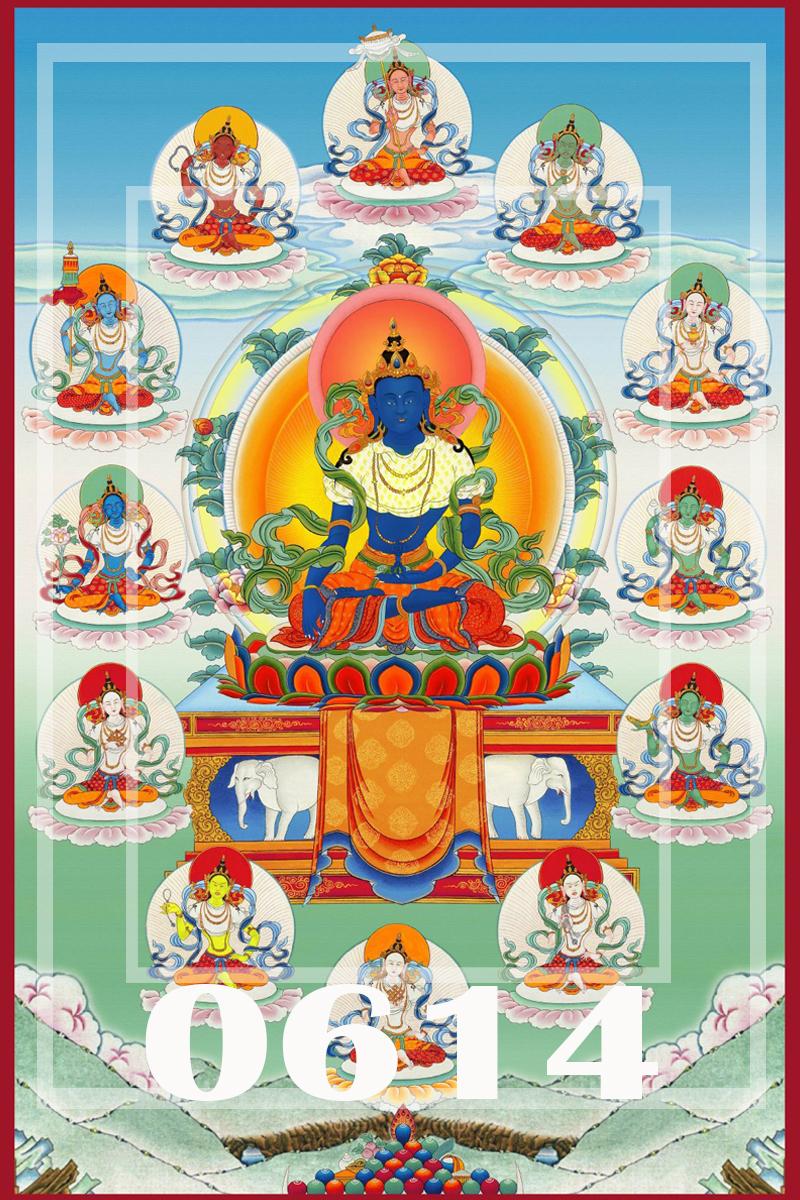 薄伽梵怙主不動佛壇城儀軌與超薦