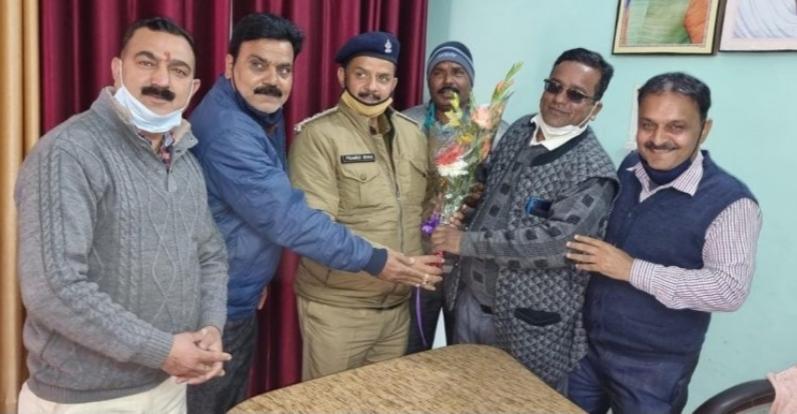 नवनियुक्त पुलिस क्षेत्राधिकारी प्रमोद कुमार शाह ने संभाला कार्यभार