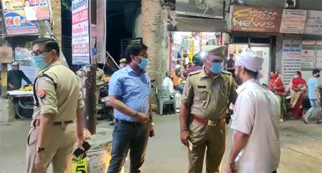 पुलिस ने चलाया अभियान, जमकर काटे चालान