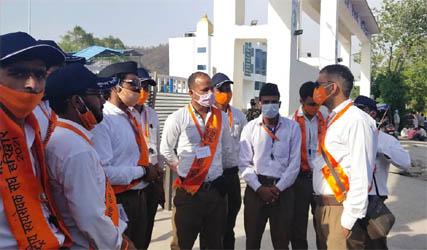 संघ के 1500 स्वयं सेवक कुम्भ में संभाल रहे हैं परिवहन व्यवस्था