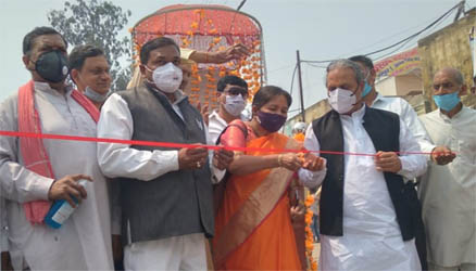 जसपुर : महर्षि कश्यप जयंती पर शोभा यात्रा का कैबिनेट मंत्री ने काटा फीता