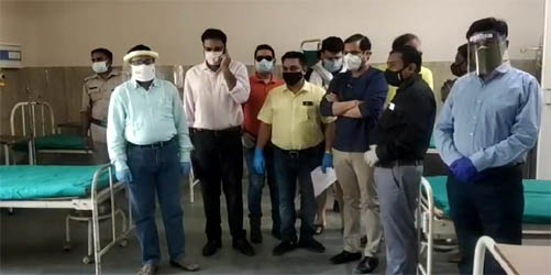 काशीपुर : आप नेता दीपक बाली के सहयोग से सरकारी अस्पताल में शुरु हुआ 25 बेड का कोविड वार्ड