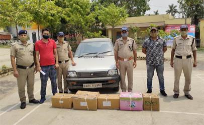 दो लाख की कोरोना की दवाइयों के साथ कालाबाजारी में जुटा युवक गिरफ्तार