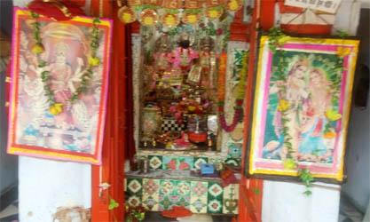 काशीपुर : बद्री भवन रोड पर स्थित अशर्फी देवी धर्मशाला मंदिर में चोरी