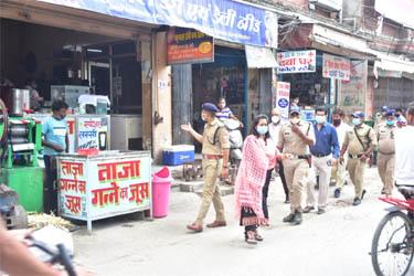 काशीपुर : एसडीएम व सीओ के नेतृत्व में चला अतिक्रमण हटाओ अभियान