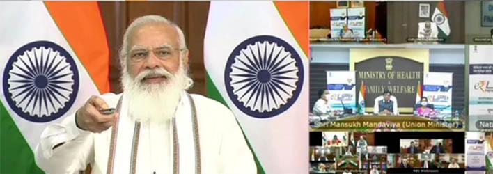 प्रधानमंत्री नरेंद्र मोदी ने लॉन्च किया डिजिटल पेमेंट सॉल्युशन – ई-रुपी