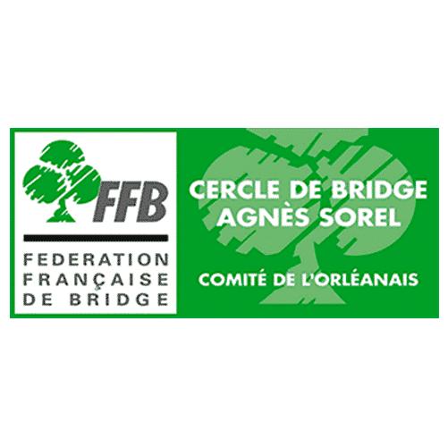 Logo Cercle de bridge Agnes Sorel, ils m'ont fait confiance, page accueilLogo Cercle de bridge Agnes Sorel, ils m'ont fait confiance, page accueil