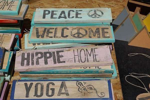 yoga hippies