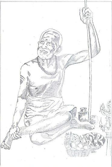 Periyava_Drawing