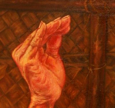 Shri Keshav His Hand and Mahalakshmi