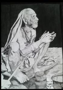 45 Mahaperiyava Smiling During Anushtanam 20112014